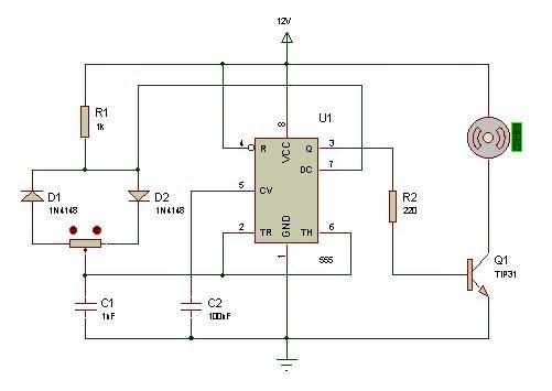 Circuito Modulator Ask Con 555 : Circuitos utiles control de velocidad pwm con