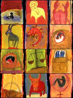 zodiaco en pinturas