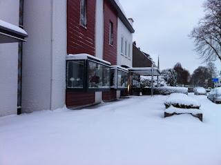 Sneeuwlandschap Rijksweg Noord - Ploemen Interieur