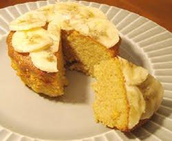Receta Cake platano