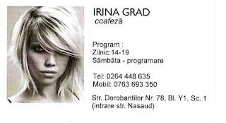 Irina Grad - coafeză