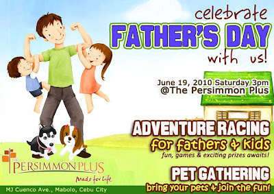 Fathers Day at Persimmon