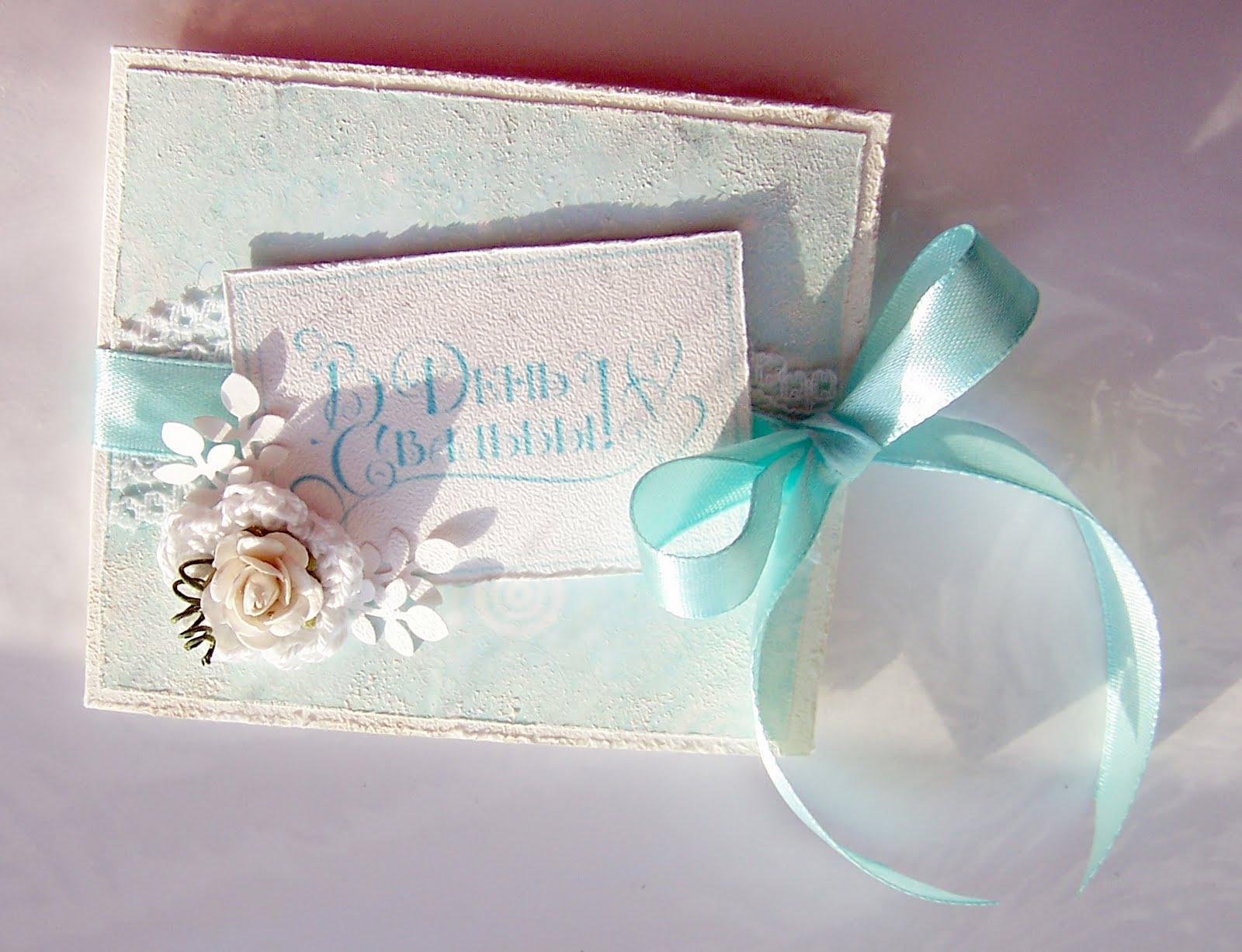 Открытки своими руками на свадьбу - идеи и пошаговые