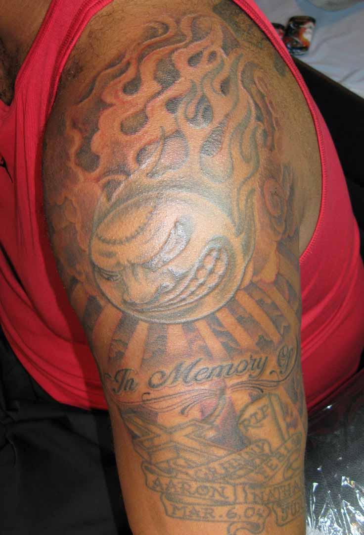 Xzibit Tattoo Arm
