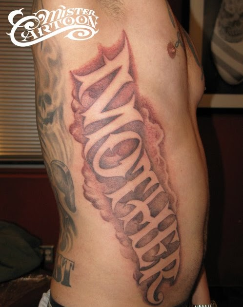 Larsen pablo dramas tattoos fantasy factory for Rob dyrdek back tattoo