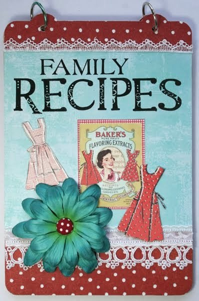 Tactueux image in printable recipe book cover