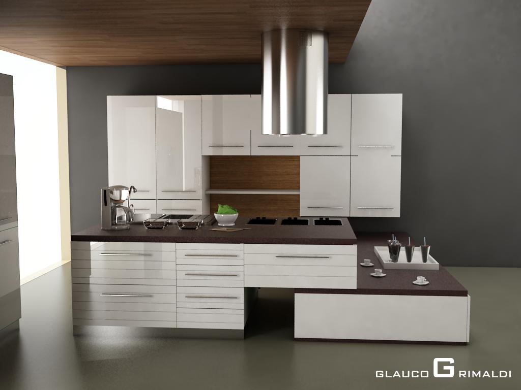 Cucine Moderne Wenge E Bianco : Glauco Design: Immagine 2 Cucina ...