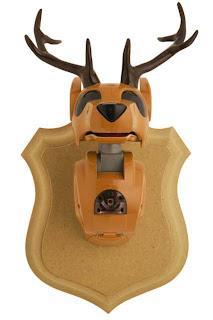 cabeza de ciervo robot