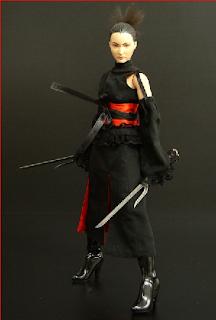 juguete de mujer ninja
