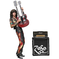 jimmy page con guitarra de doble mástil, Led Zepelin
