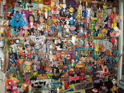 gran colección de juguetes