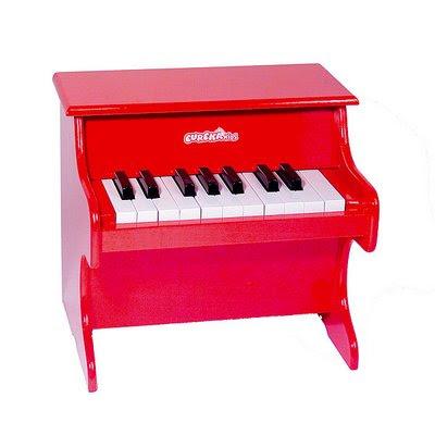 piano de juguete, para hacer música de juguete