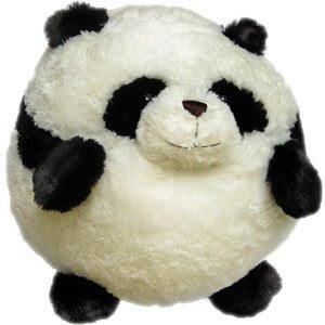peluche de panda gordo