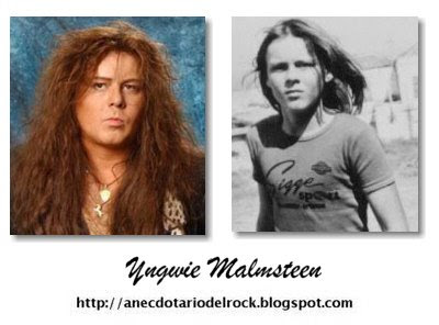 Los rockeros tambien fueron niños(imagenes)