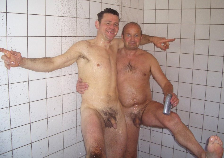 shower dad naked