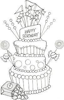 Mom 39 s coloring pages birthday coloring pages birthday cake for Happy birthday mommy coloring pages