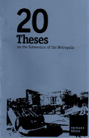 20 Theses Subversion Metropolis Anarchism Situationists by Plan B Bureau, Plan B Bureau