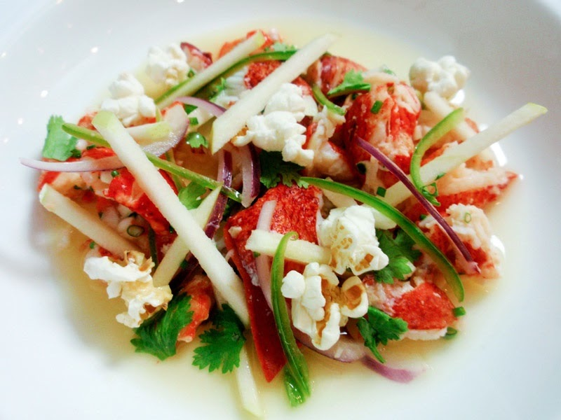 Carrots & Ginger: Maine Lobster Ceviche