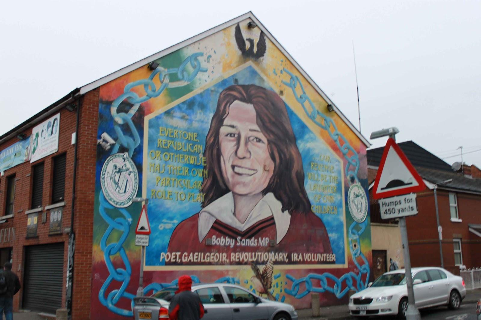Periodista itinerant de gener 2011 for Bobby sands mural falls road