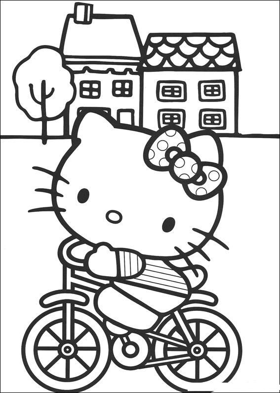 hello kitty holiday coloring pages - photo#35