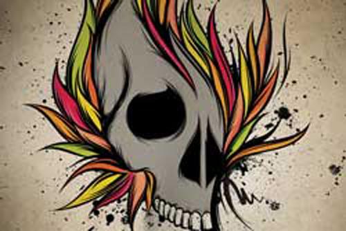 Graffiti Punk : Graffiti Rock and Punk Design Ideas