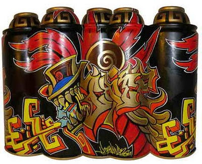 Graffiti Cartoon Cans Funny Design