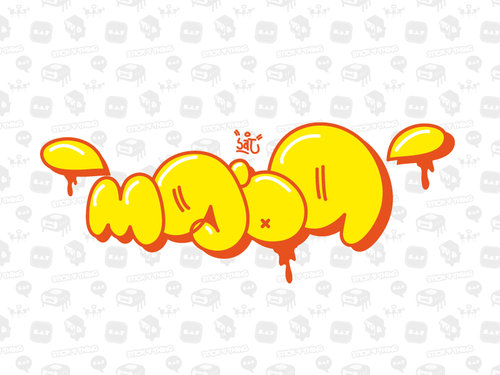 graffiti fonts bubble. Graffiti Buble : Alphabet