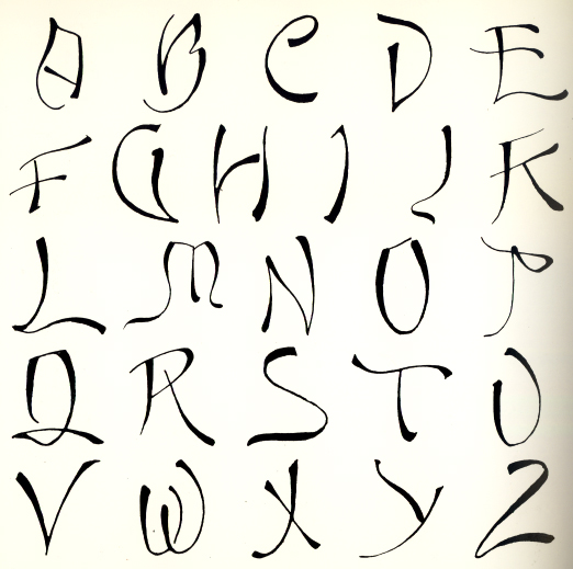 fancy fonts alphabet graffiti
