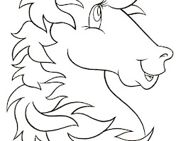 Princess On Unicorn Coloring Page