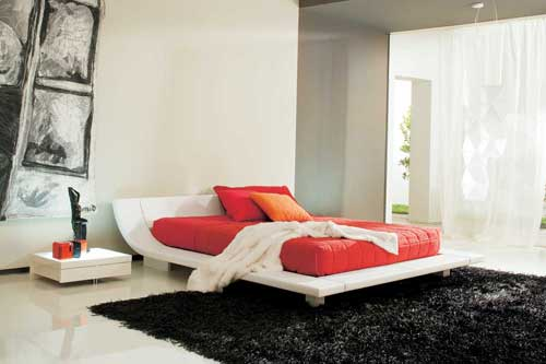 Latest modern bedroom interior design for Latest bedroom designs