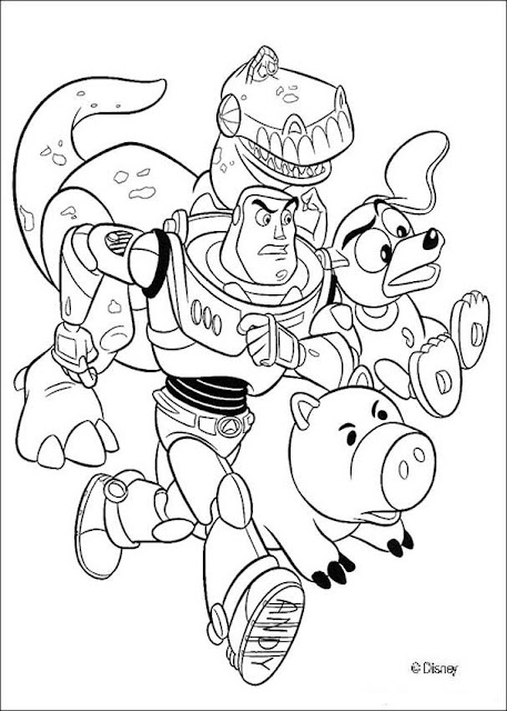 Free Printable Coloring Pages Toy Story To Print Colorng