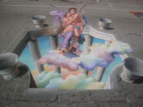 Amazing Street Art Paintings With D Effects - 21 amazing examples of graffiti