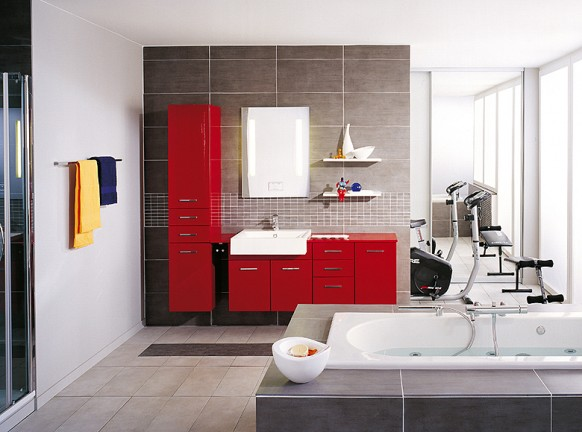Modern Furniture: Bathroom Decorating Ideas 02