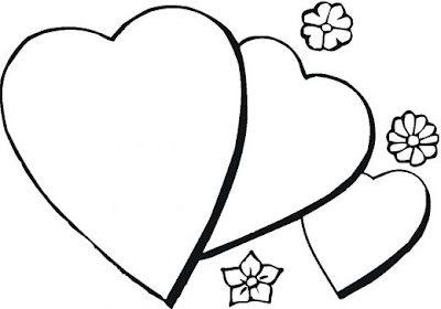 free coloring pages valentine days