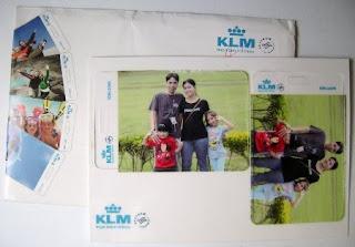 Tags personalizadas para malas. Brinde da KLM