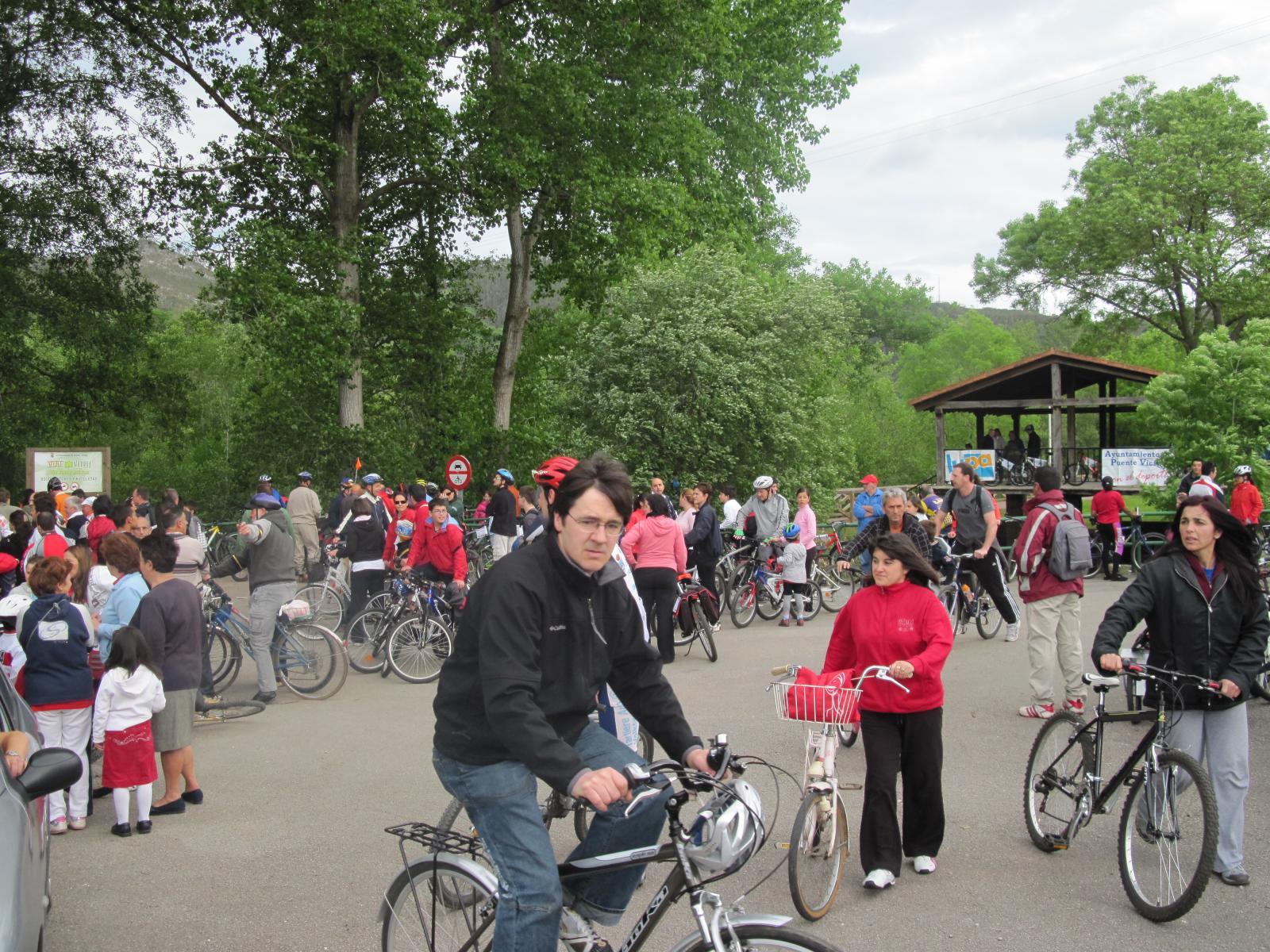 Día de la Bici en Puente Viesgo el año pasado