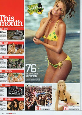 Gong Comunity: Sophie Monk Bikini Photos in Ralph Magazine