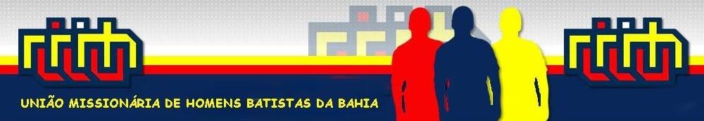 União Missionária de Homens Batistas da Bahia