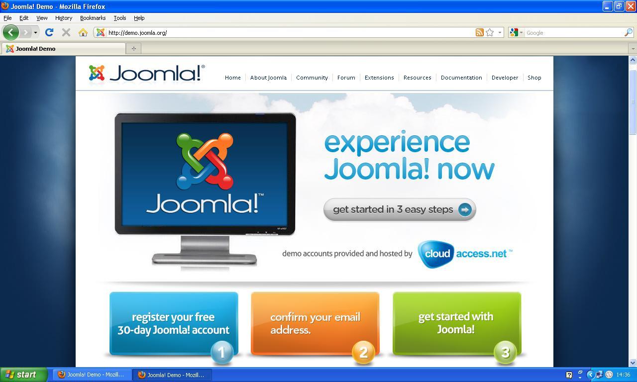 Free CMS - Framework - Templates: Joomla 1.6