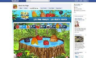 Page facebook pour la demi-finale
