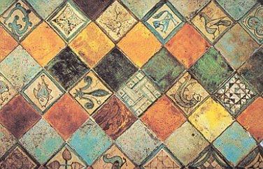 Impressions d 39 avignon les roses dans le palais for Peinture carrelage castorama avignon
