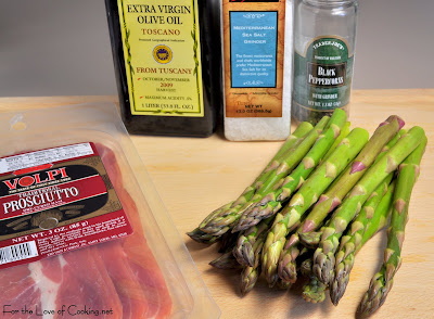 Roasted Asparagus with Prosciutto