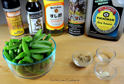 Asian Sugar Snap Peas