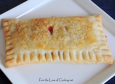 Homemade Lemon and Blueberry Pop Tarts