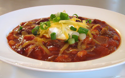 Vegetarian Three Bean Chili