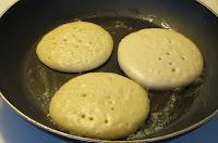 Pancakes with Raspberry Sauce