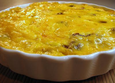 Potato, Turkey Sausage, and Mushroom Frittata