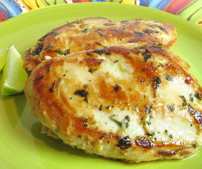 Cilantro and Lime Chicken Breasts