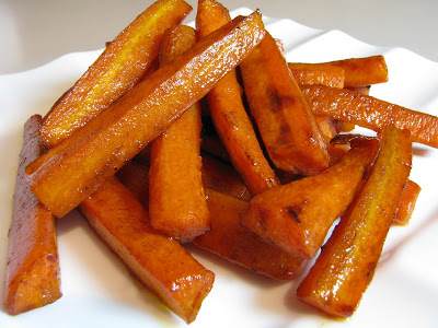 Roasted Carrots in a Balsamic Vinaigrette