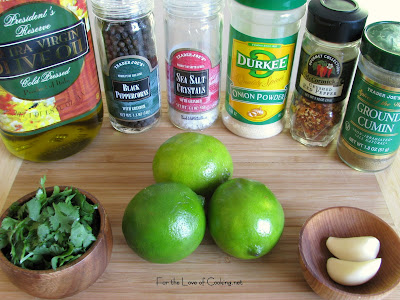 Cilantro Lime Chicken Tacos With A Mango And Black Bean Salsa Recipe ...